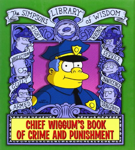 9780007309535: Chief Wiggum (The Simpsons Library of Wisdom)