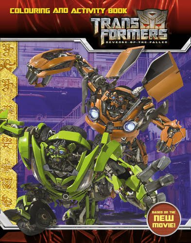 Revenge of the Fallen Colouring and Activity Book (Transformers 2)