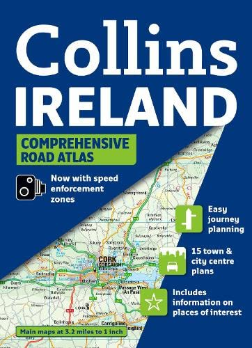 9780007312818: Collins Ireland Comprehensive Road Atlas (Collins Travel Guides)