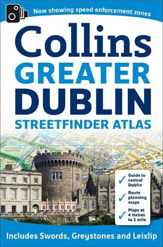 9780007312825: Collins Greater Dublin Streetfinder Atlas (Collins Travel Guides)