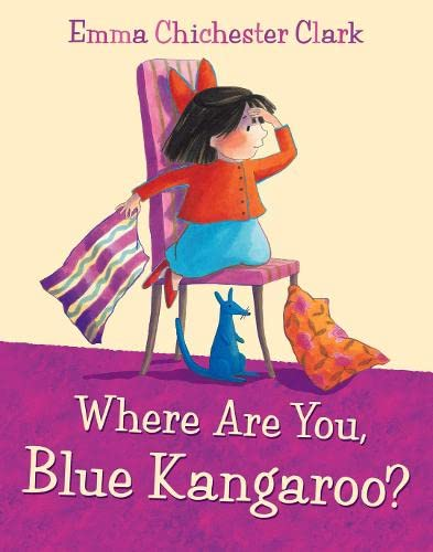 9780007312887: Where Are You, Blue Kangaroo? [With CD (Audio)]