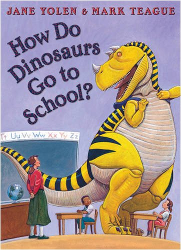 9780007312955: How Do Dinosaurs go to school (How Do Dinosaurs Book & CD)