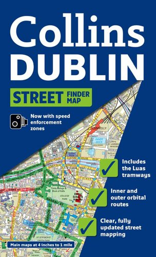 9780007313303: Dublin Streetfinder Colour Map (Collins Travel Guides)