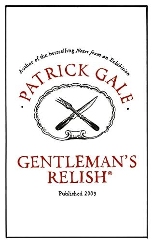 9780007313457: Gentleman's Relish