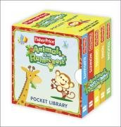 9780007313822: Animals of the Rainforest Pocket Library: Five Books in One Little Library. (Fisher-Price Animals of the Rain Forest)