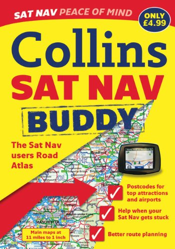 9780007316076: Sat Nav Buddy Atlas of Britain (Collins)