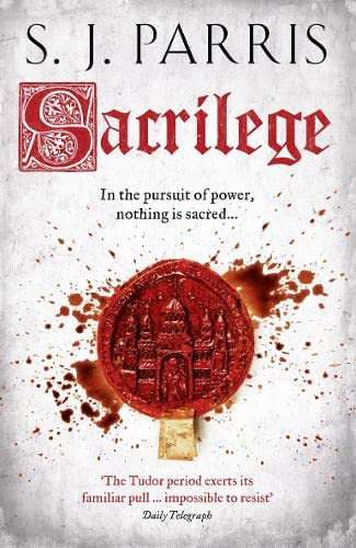 SACRILEGE - THE GIORDANO BRUNO MYSTERIES BOOK THREE - RARE SIGNED & PUBLICATION DATED FIRST EDITI...