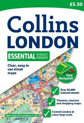 9780007317875: Collins London Essential Street Finder (Collins Travel Guides)