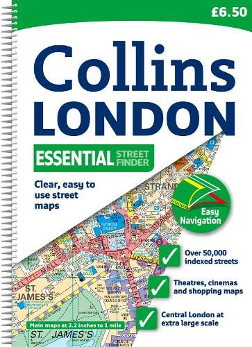 9780007317882: Collins London Essential Street Finder (Collins Travel Guides)