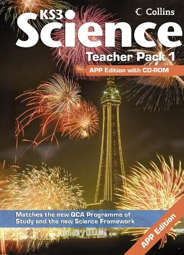 9780007318322: Collins KS3 Science - Teacher Pack 1 (Collins Key Stage 3 Science)