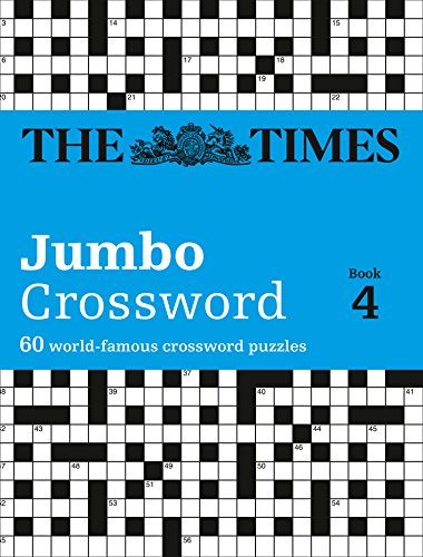 9780007319282: Times 2 Jumbo Crossword Book 4