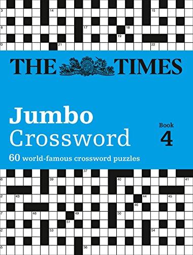 9780007319282: Times 2 Jumbo Crossword Book 4