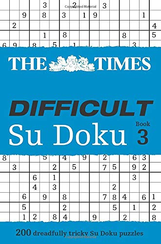 9780007319701: Times Difficult Su Doku Book 3