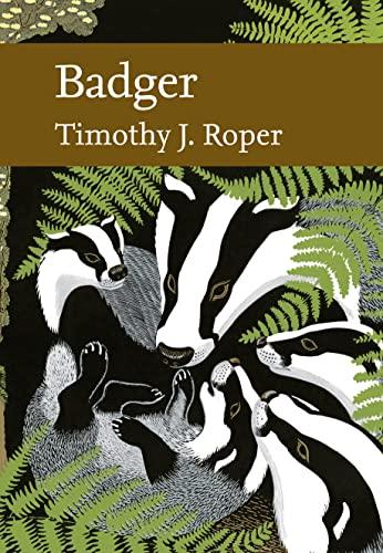9780007320417: Badger (Collins New Naturalist)