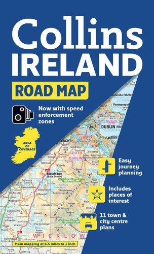 9780007320721: Collins Ireland Road Map (International Road Atlases)