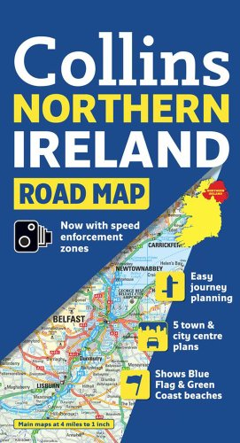 9780007320738: Northern Ireland Road Map Collins (International Road Atlases)