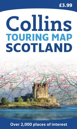 9780007320745: Scotland Touring Map (Collins Travel Guides)