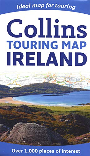 9780007320752: Collins Ireland Touring Map (Collins Travel Guides)