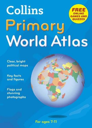 9780007320844: World Atlas (Collins Primary Atlases)