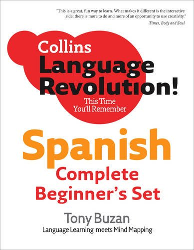 9780007321186: Collins Language Revolution! - Complete Spanish Beginner's Set - Language Learning meets Mind Mapping