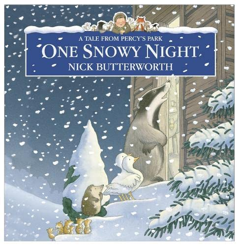 9780007322053: One Snowy Night (Percy the Park Keeper)