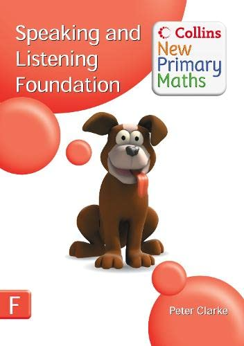 9780007322787: Collins New Primary Maths - Speaking and Listening Foundation
