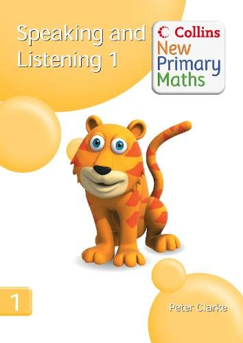 9780007322794: Speaking and Listening 1 (Collins New Primary Maths)
