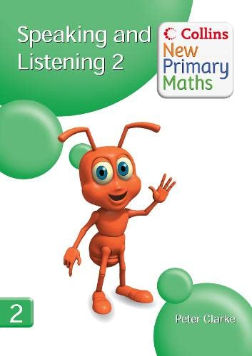 9780007322800: Speaking and Listening 2 (Collins New Primary Maths)