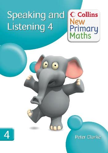 9780007322824: Speaking and Listening 4 (Collins New Primary Maths)