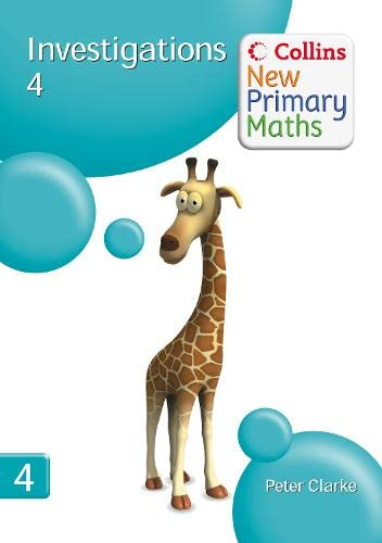 9780007322947: Investigations 4 (Collins New Primary Maths)