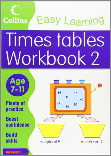 9780007323357: Times Tables Workbook 2 (Collins Easy Learning Age 7-11)