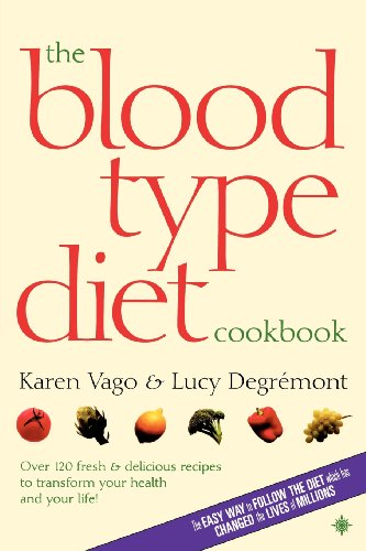 9780007323517: Blood Type Diet Cookbook