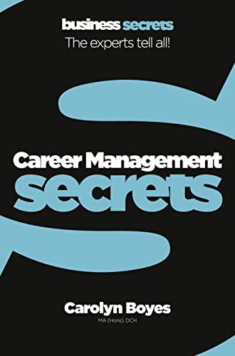 9780007324439: Career Management (Collins Business Secrets)