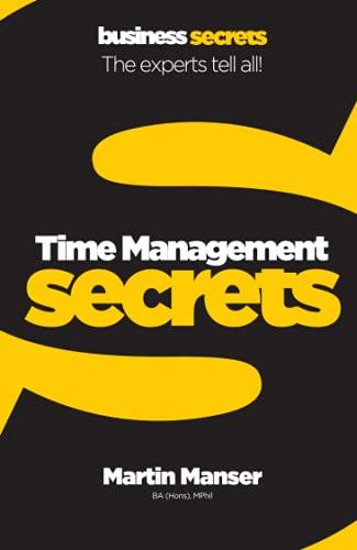 9780007324460: Time Management (Collins Business Secrets)