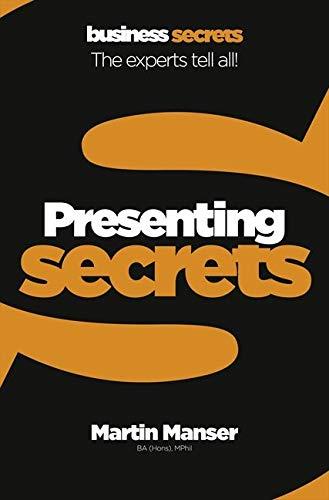 9780007324477: Presenting (Collins Business Secrets)