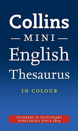 9780007324910: Collins Mini Thesaurus