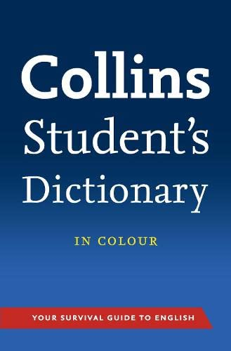 9780007324927: Collins student's dictionary