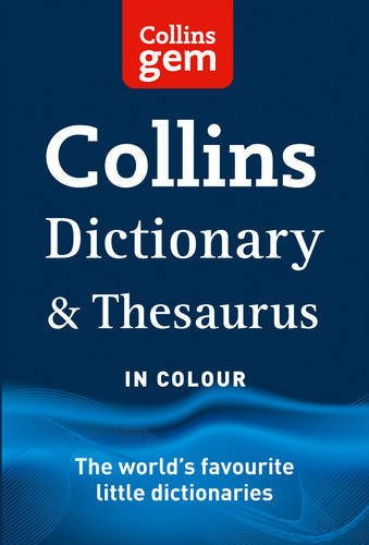 9780007324934: Collins Gem Dictionary and Thesaurus