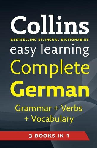 9780007324941: Easy Learning Complete German Grammar, Verbs and Vocabulary (3 books in 1) (Collins Easy Learning German) (German and English Edition)