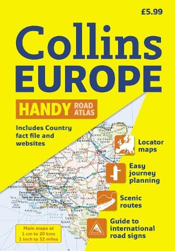 9780007325870: 2010 Collins Europe Handy Road Atlas (International Road Atlases)