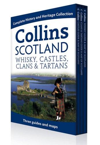 9780007325887: Collins Scotland Box Set: Whisky, Castles, Clans and Tartans (Collins Pictorial Maps)
