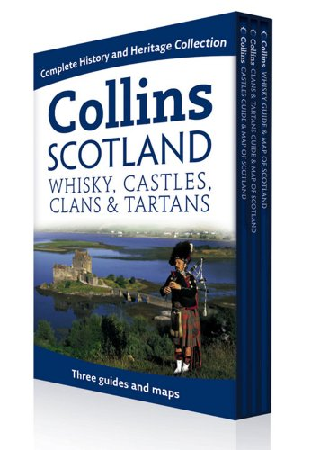 9780007325887: Collins Scotland: Maps & Guides of Whisky, Castles, Clans & Tartans (Collins Scotland Box Set) (Collins Pictorial Maps)