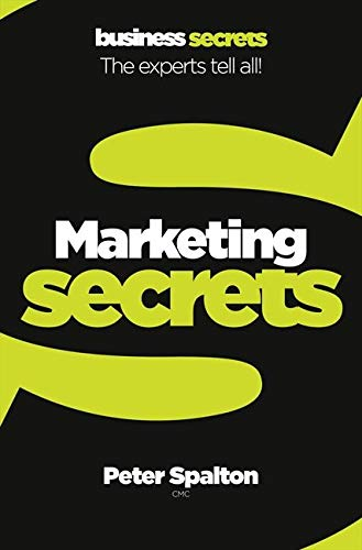 9780007328116: Marketing (Collins Business Secrets)
