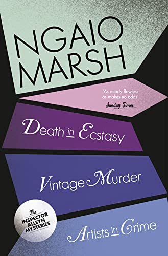 9780007328703: Death in Ecstacy / Vintage Murder / Artists in Crime