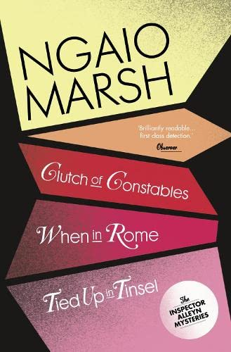9780007328772: Clutch of Constables / When in Rome / Tied Up In Tinsel (The Ngaio Marsh Collection, Book 9)