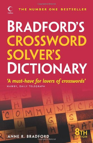 9780007329274: Collins Bradford's Crossword Solver's Dictionary