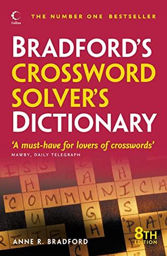 9780007329274: Collins Bradford's Crossword Solver's Dictionary