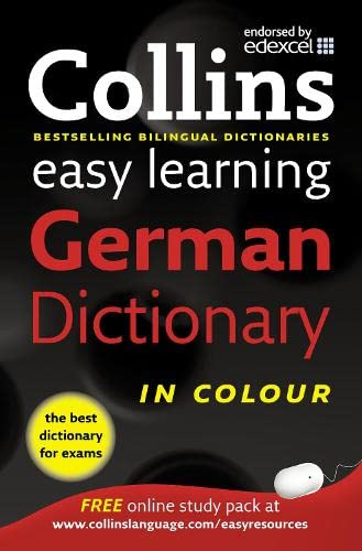 9780007331505: Easy Learning German Dictionary (Collins Easy Learning German) (German and English Edition)