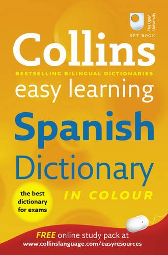 9780007331512: Collins Easy Learning Spanish Dictionary (Collins Easy Learning Spanish) (Collins Easy Learning Dictionaries)
