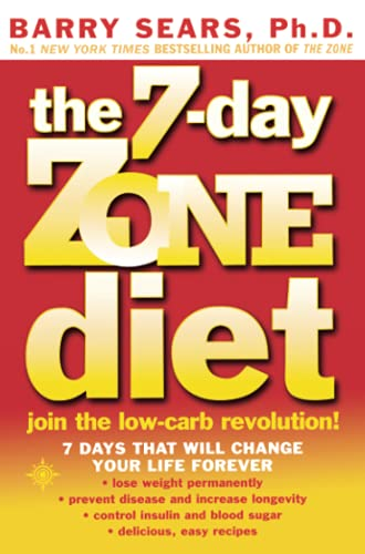 9780007332410: The 7-Day Zone Diet: Join the Low-Carb Revolution!